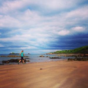 Gullane Beach run