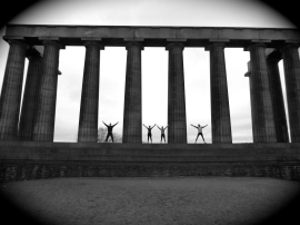 Calton Hill workout 2